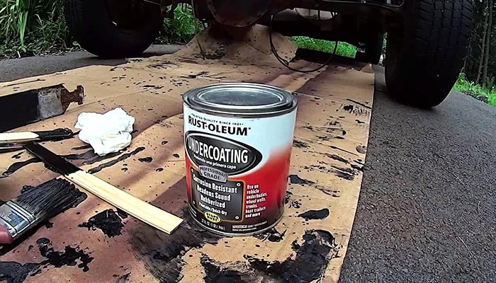 how paint a truck frame
