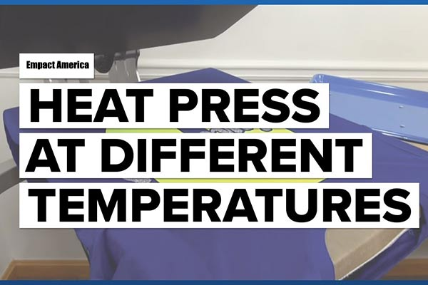 Heat Press Temperature Chart and Time Guide for Beginners