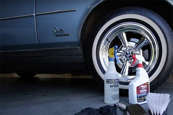How To: Keep Whitewall Tires Clean